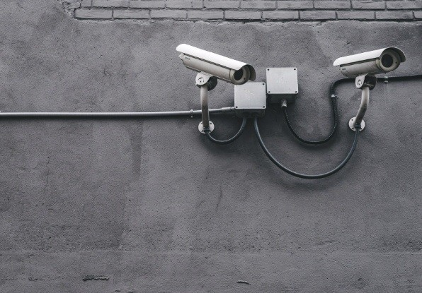 Image of automated CCTV cameras which can be integrated into the AdvanceGuard system.
