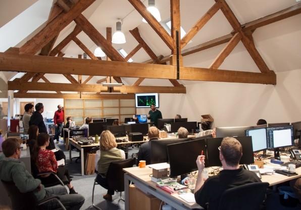 Image of ORI meeting with Navtech Radar