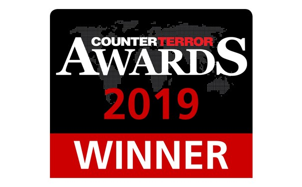 Counter terror awards winner logo for perimeter intrusion detection system
